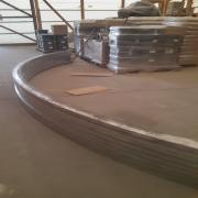 CNC zártszelvény ívesítés